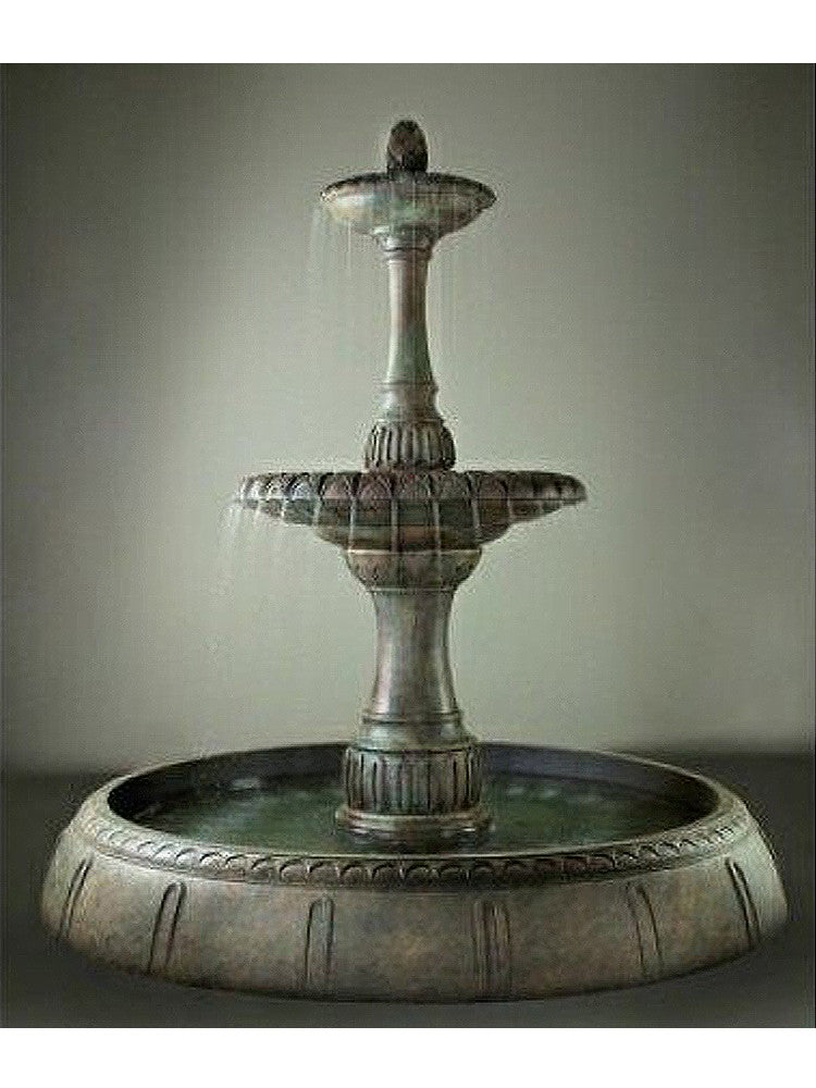 Grande Riviera Garden Fountain - Soothing Walls