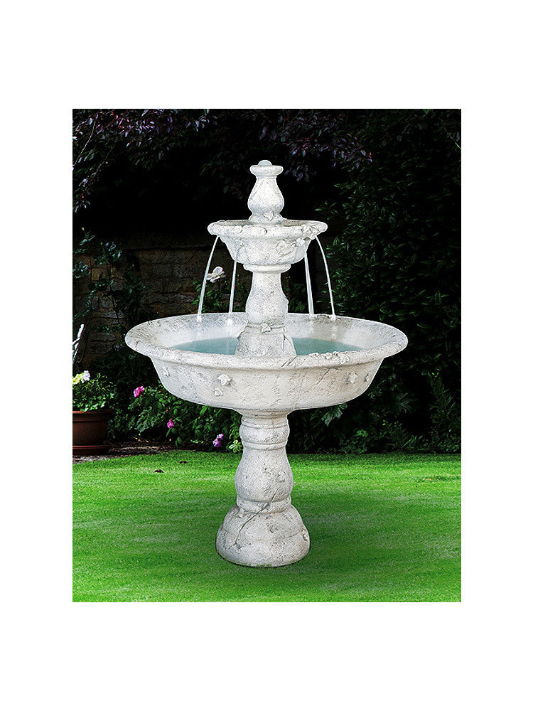 Large Tazza Tier Outdoor Fountain - Soothing Walls