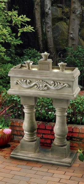 Veranda Floor Fountain - Soothing Walls