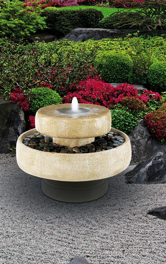 Millstone Fountain - Soothing Walls