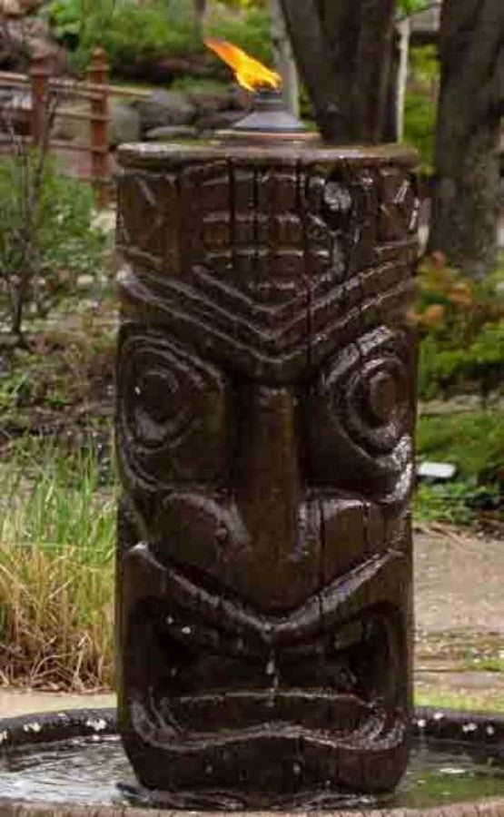 Tiki Column Fountain - Soothing Walls