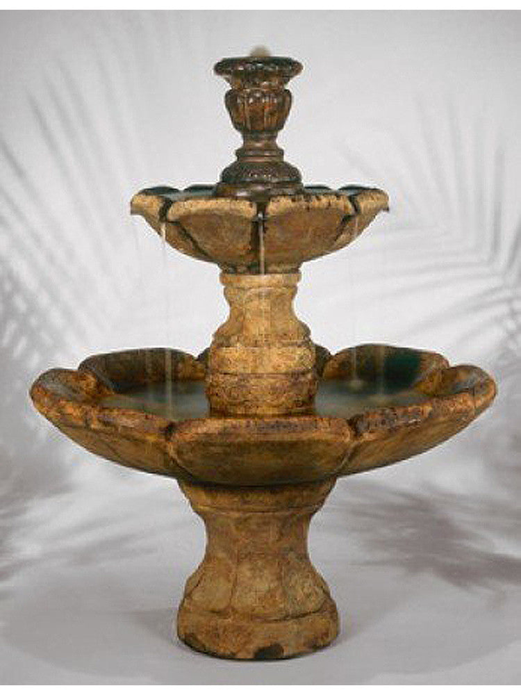 Finial Outdoor Water Fountain - Soothing Walls