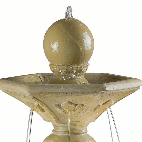 Provence Outdoor Solar Fountain - Soothing Walls