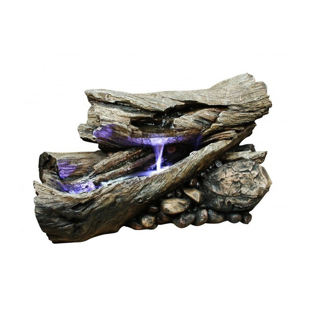 Rainforest Driftwood Fountain - Soothing Walls