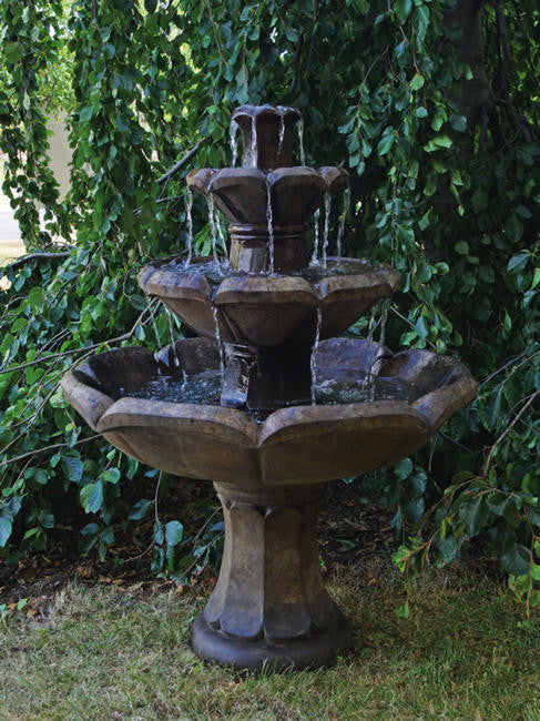 Montreux Three-tier Fountain - Soothing Walls
