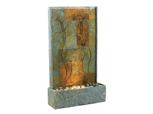 Copper Vines Floor Fountain from Soothing Walls
