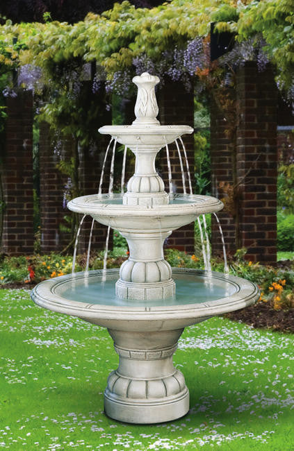 Large Contemporary Tier Fountain - Soothing Walls