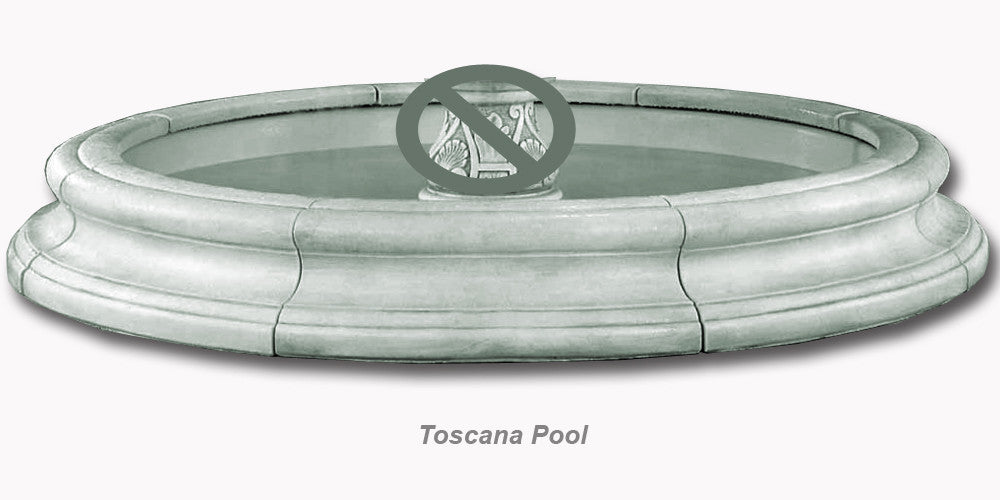 Lorelei In Toscana Pool Fountain - Soothing Walls