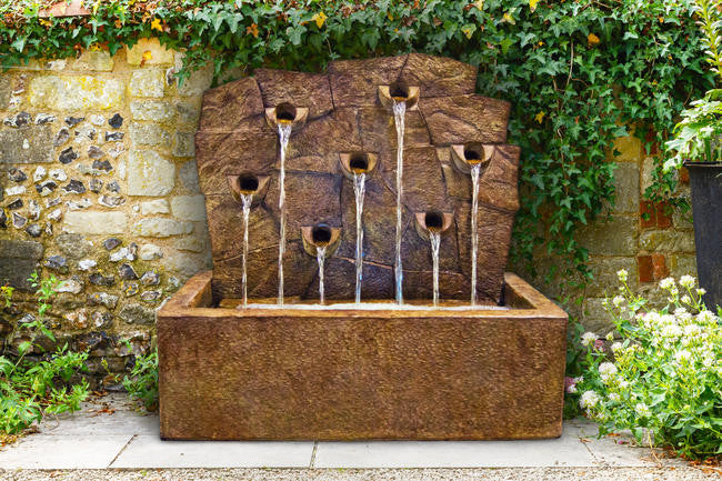 Rock Wall Fountain - Soothing Walls