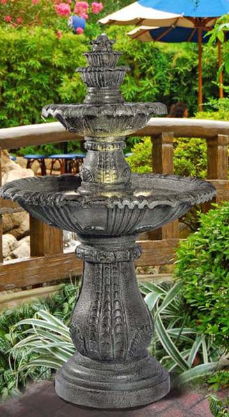 Venetian Floor Fountain - Soothing Walls