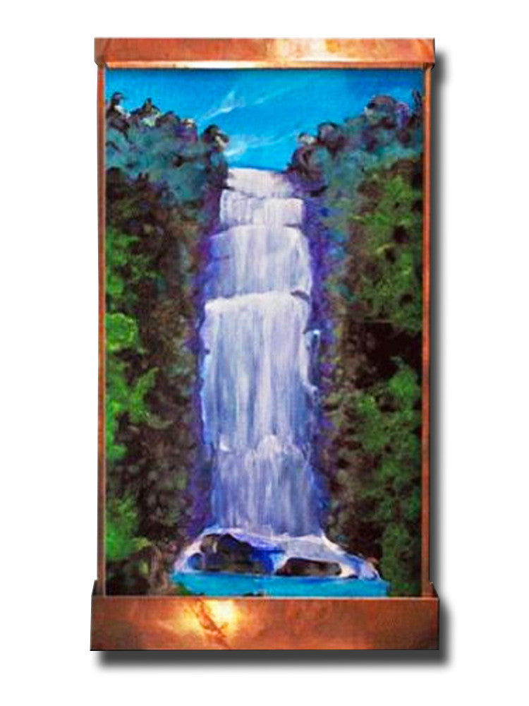 8 Foot Amazonia Wall Fountain - Soothing Walls