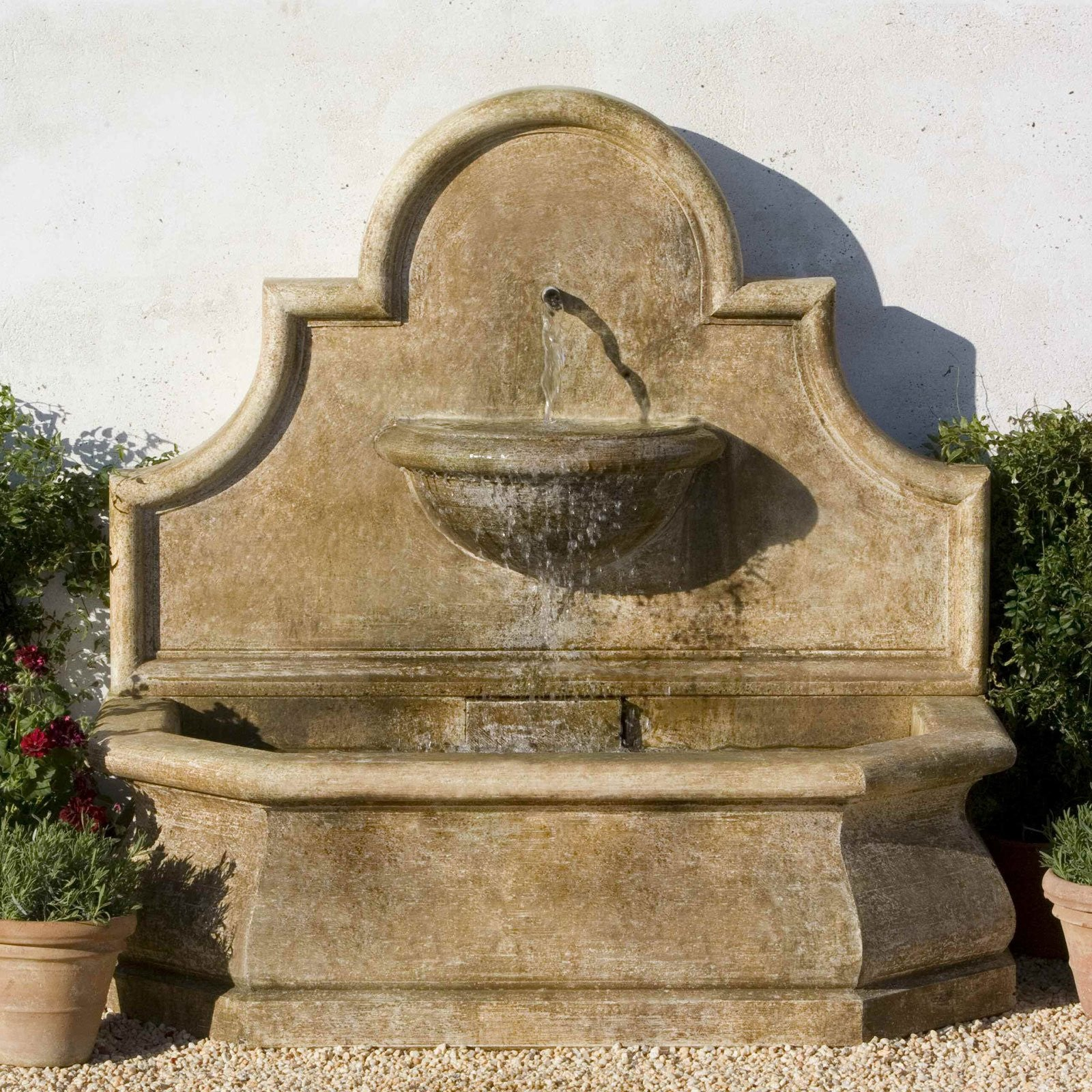 Superbe Andalusia Garden Wall Fountain   SoothingWalls ...