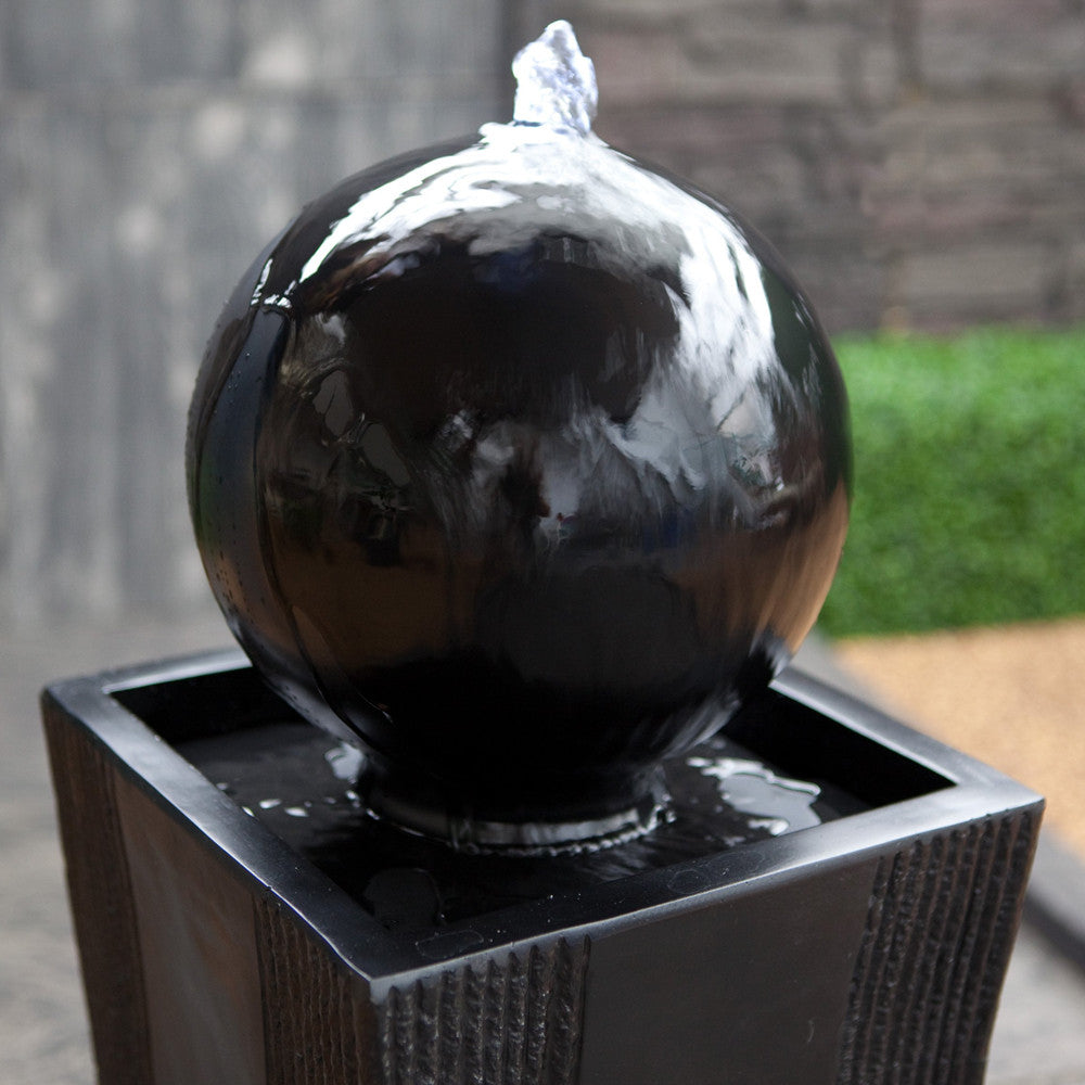 Ball on Stand Fountain - SoothingWalls