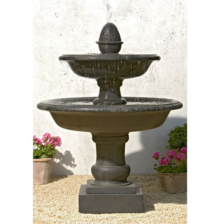 Belvedere Outdoor Water Fountain - Soothing Walls