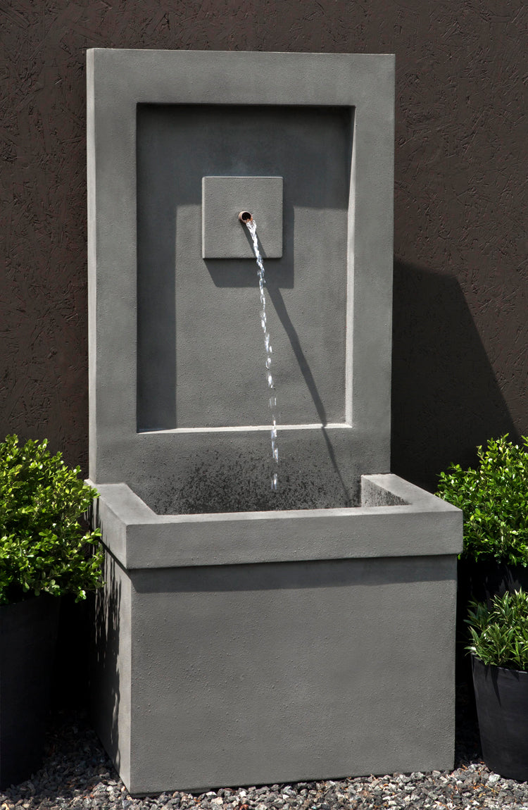 outdoor wall fountains shop outdoor wall water features. Black Bedroom Furniture Sets. Home Design Ideas