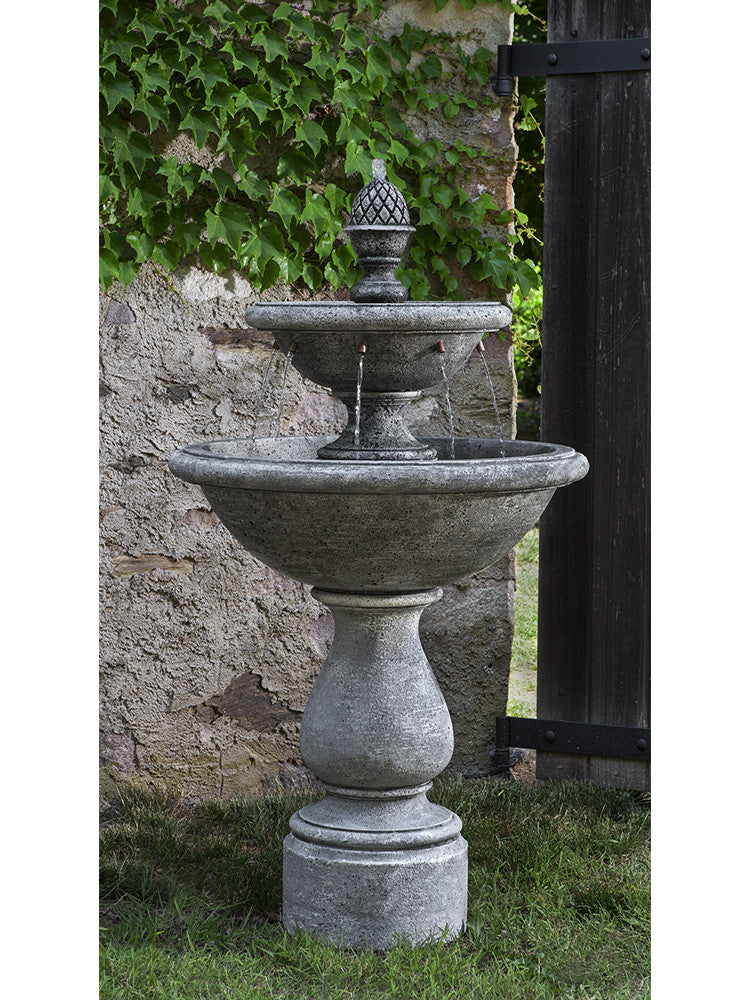 Charente Garden Water Fountain - Soothing Walls