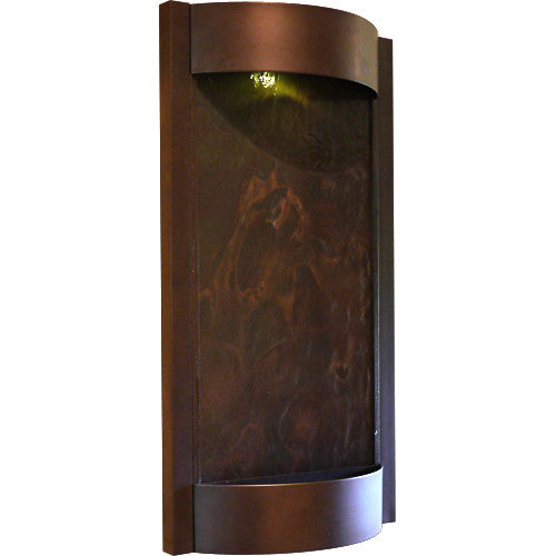 Contempo Terra Oil Rubbed Bronze with Slate Wall Fountain - Soothing Walls