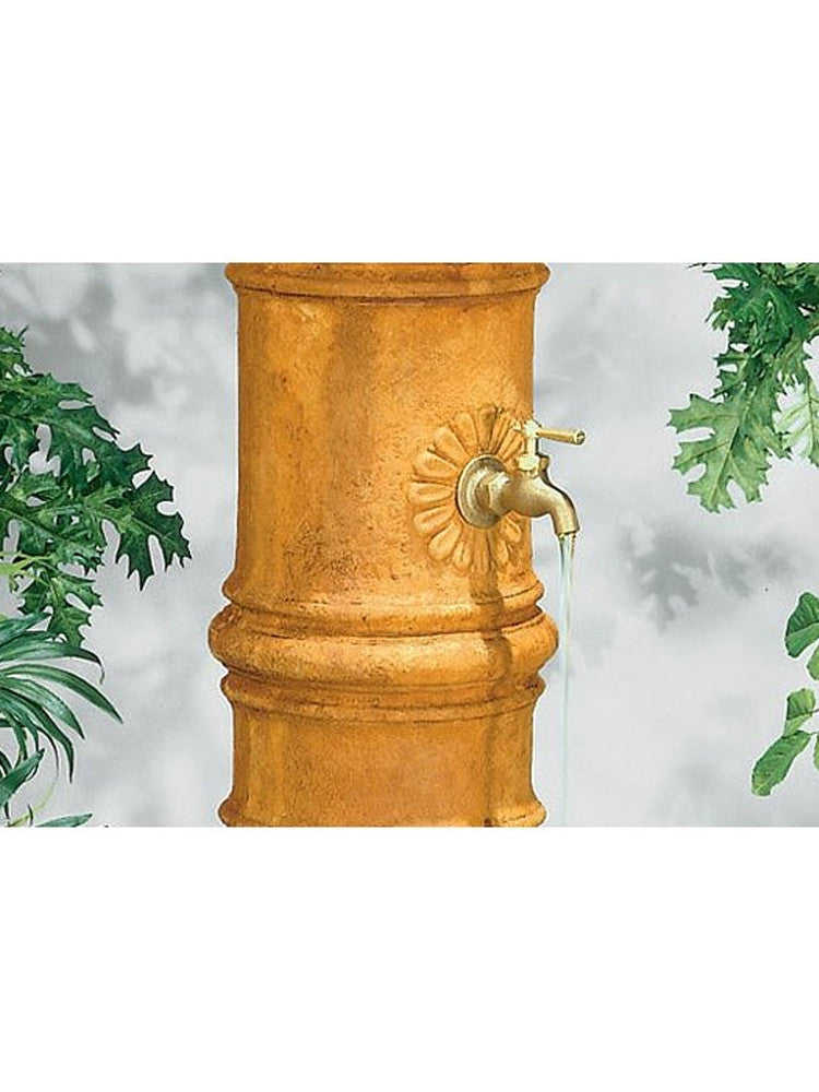 Cylinder Column Well Garden Fountain - Soothing Walls