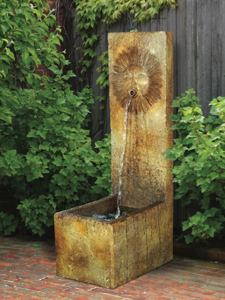 Del Sol Single Spout Fountain - Soothing Walls