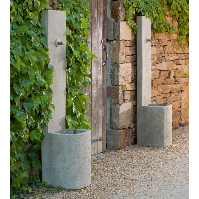 echo outdoor wall fountain soothing walls
