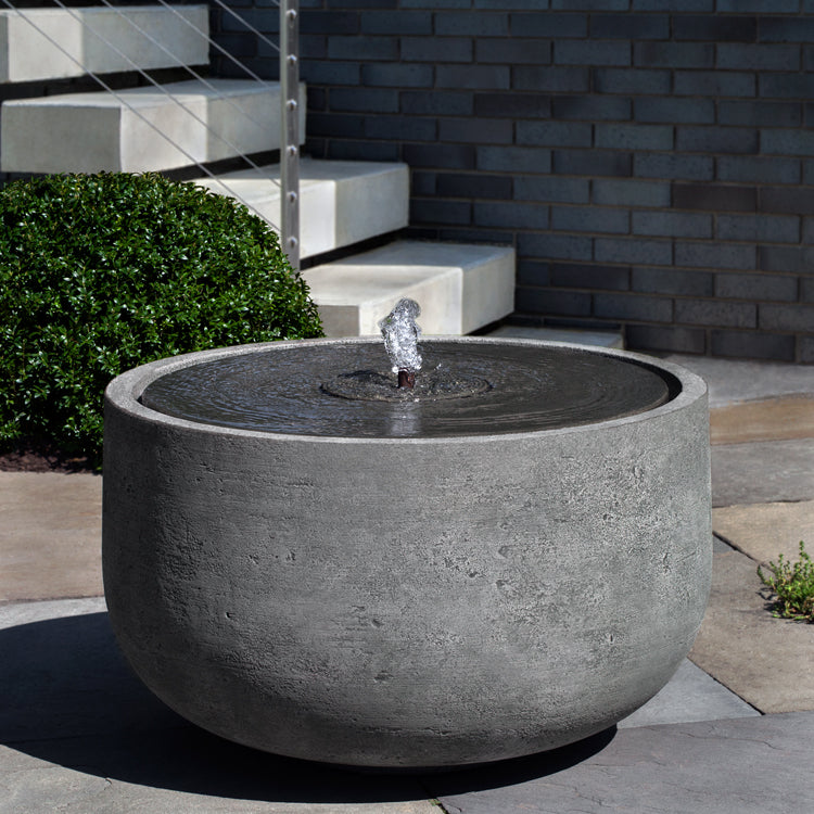 Echo Park Garden Fountain - Outdoor Fountains - Soothing Walls