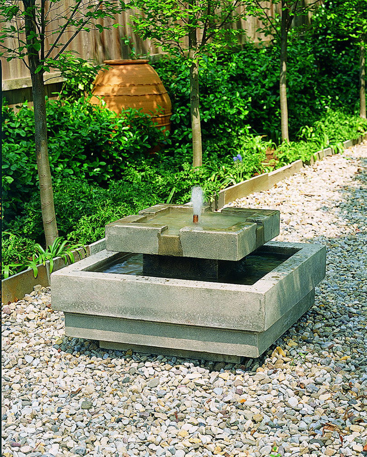 escala garden water fountain soothing walls - Garden Fountains