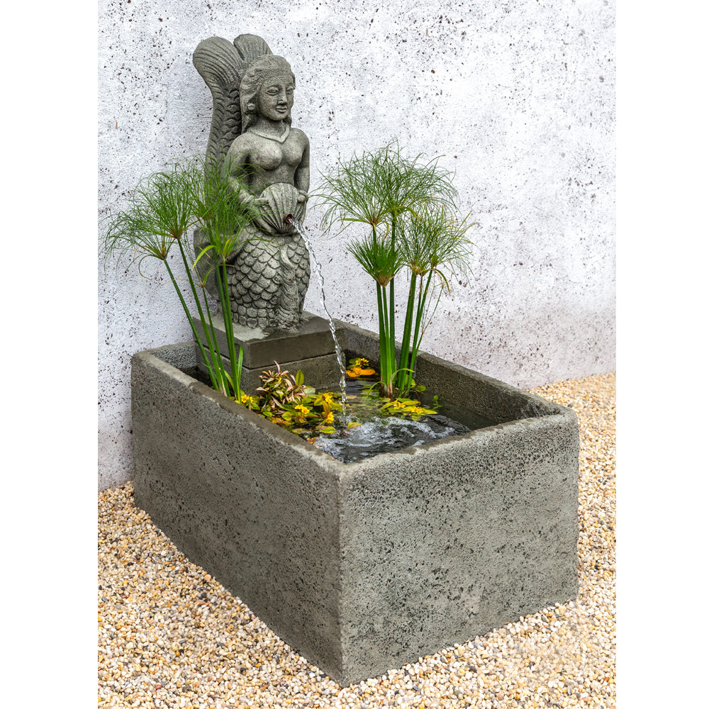 La Sirena Outdoor Fountain - Soothing Walls