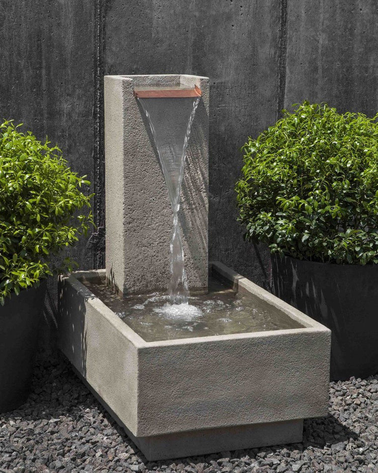 Falling Water 4 Garden Fountain - Soothing Walls