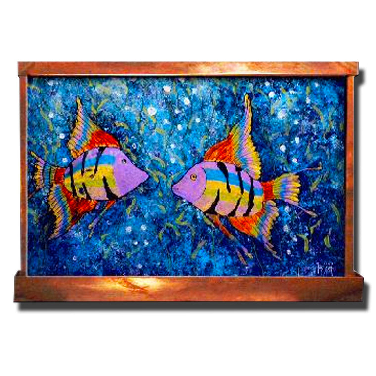 Fish Love Wall Fountain - Soothing Walls