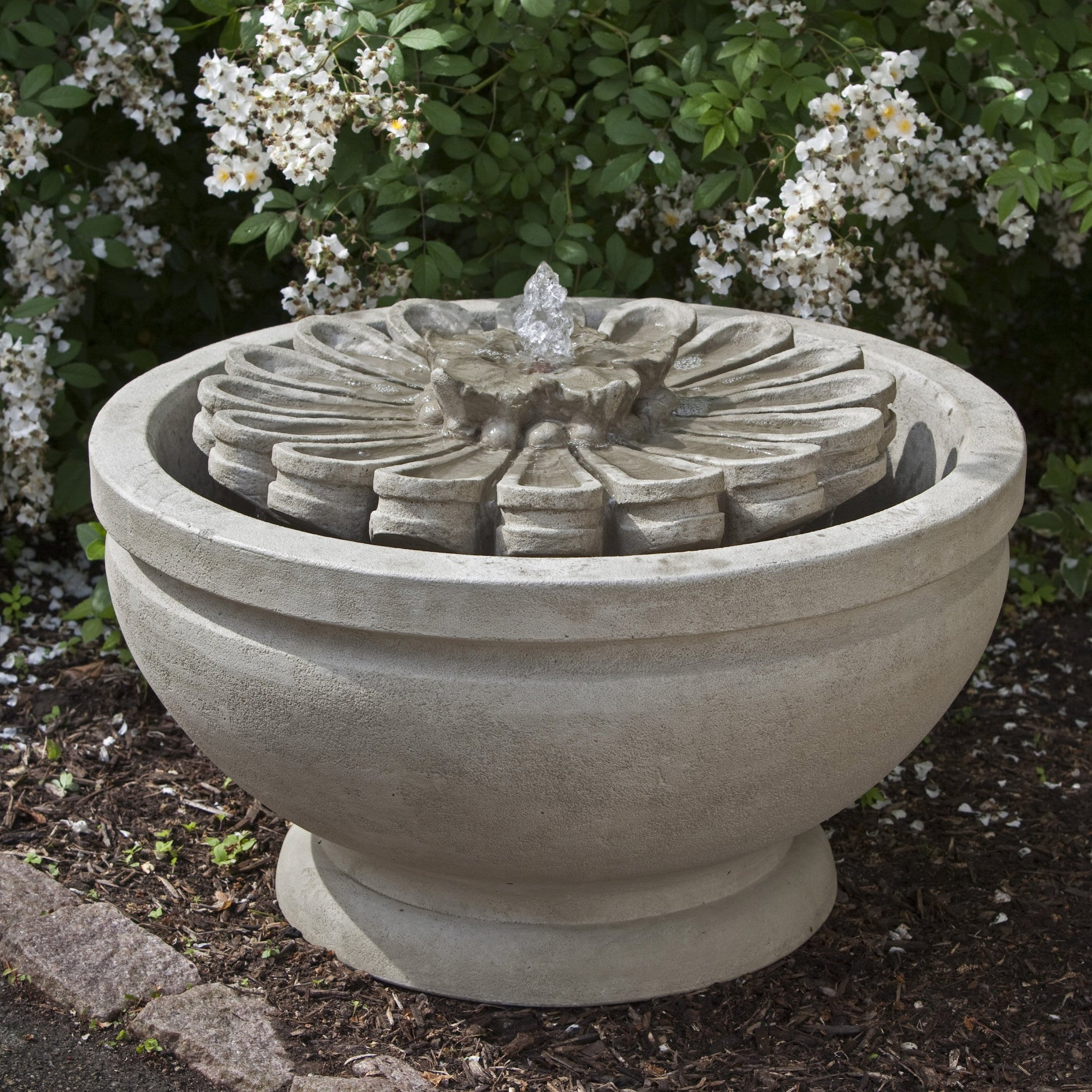 Fleur Garden Fountain - Soothing Walls