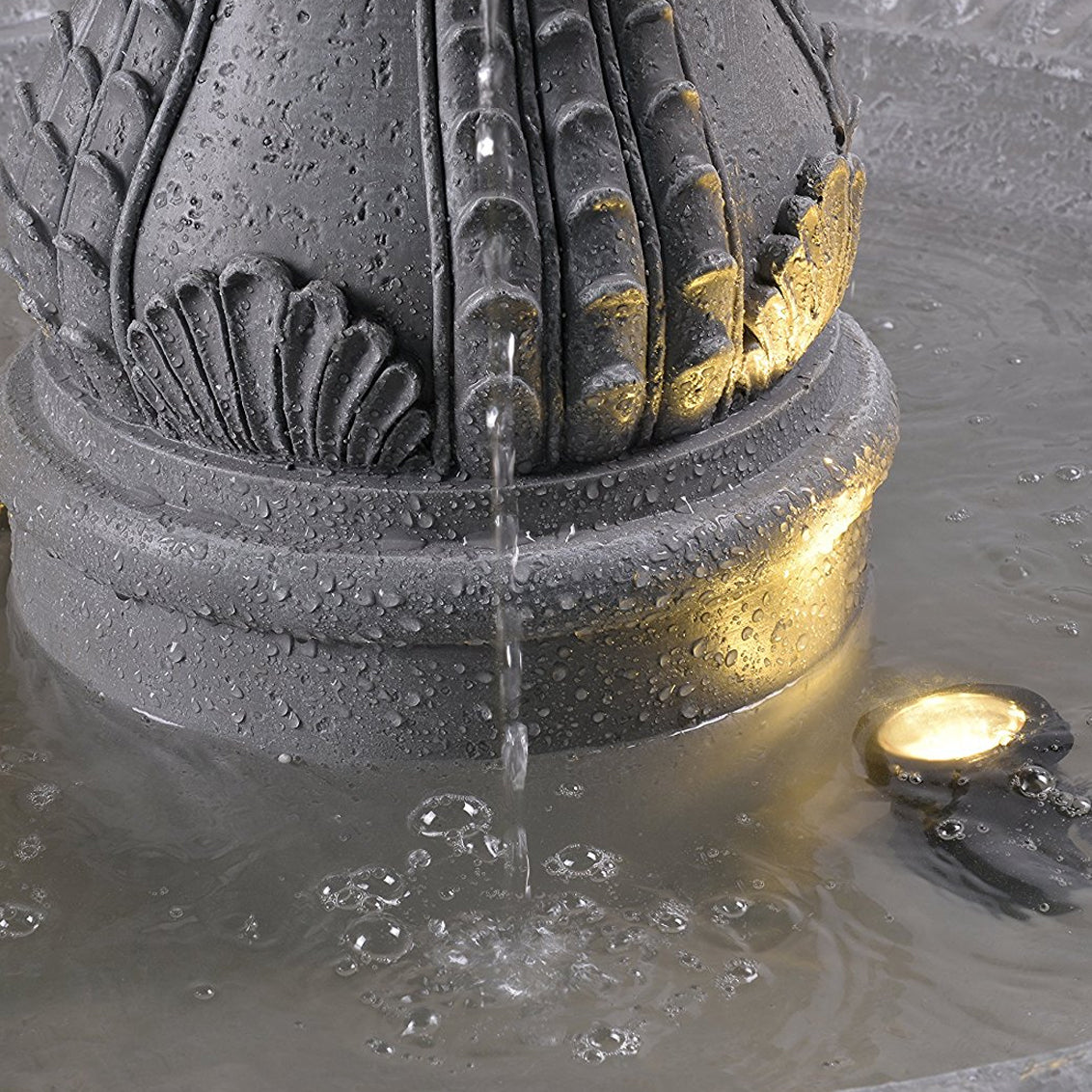 Florentine Floor Fountain - Soothing Walls