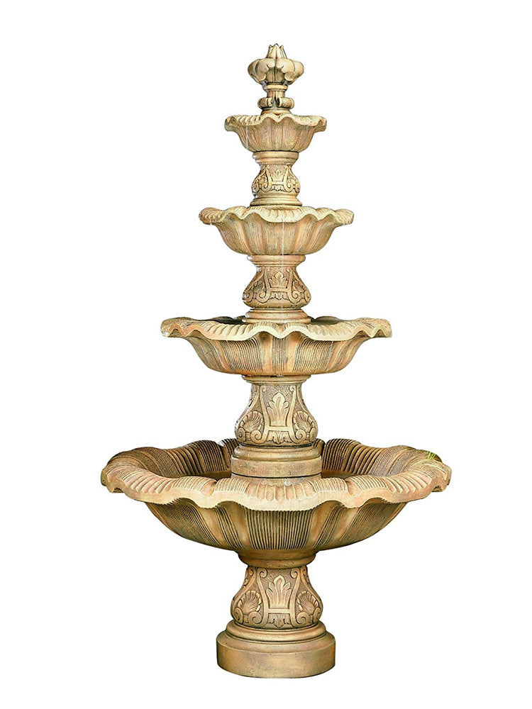 Four Tier Renaissance Fountain - Soothing Walls