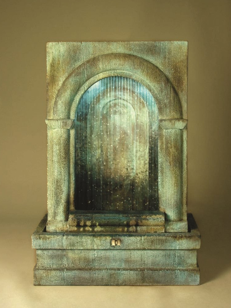 Grotto Falling DIamonds Outdoor Water Fountain - Soothing Walls