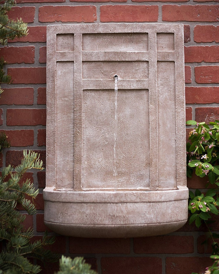 The Sicily Outdoor Wall Fountain