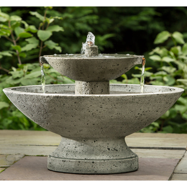 Jensen Oval Garden Water Fountain - Soothing Walls