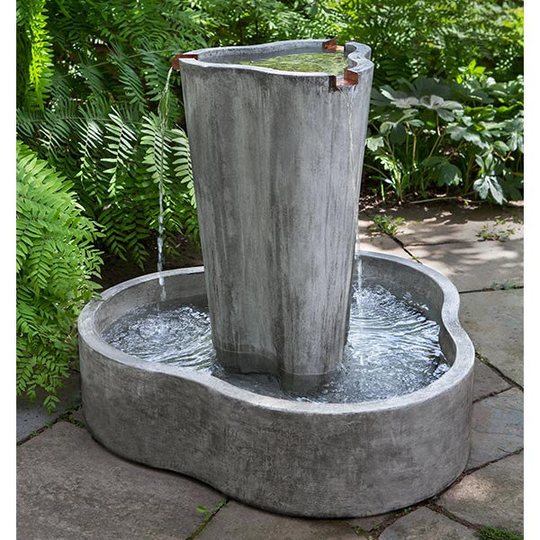 LC2 Garden Water Fountain - Soothing Walls