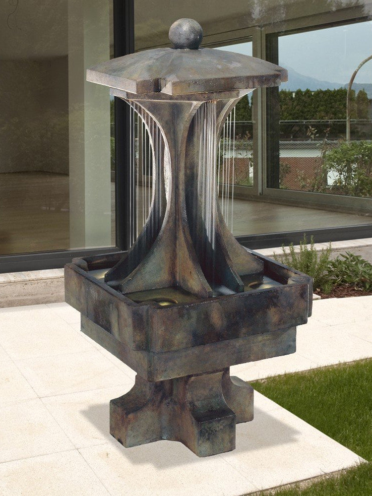 LaCrosse Outdoor Water Fountain - Soothing Walls