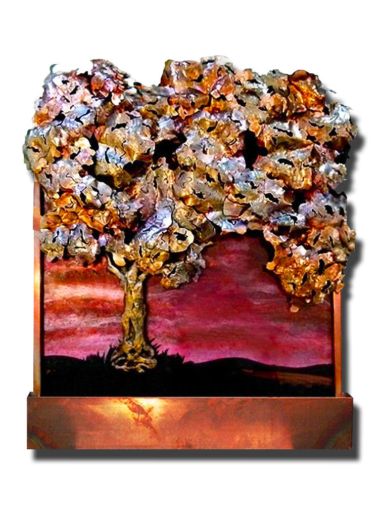 Large Galaxy Tree Wall Fountain - Soothing Walls