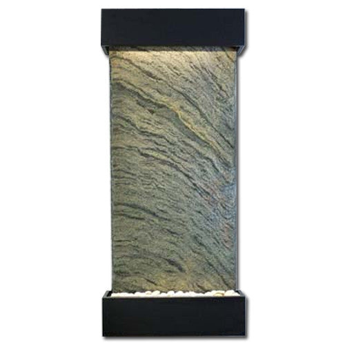 Classic Quarry Nojoqui Falls Wall Fountain - Rajah Slate with Coppervein Trim - Soothing Walls