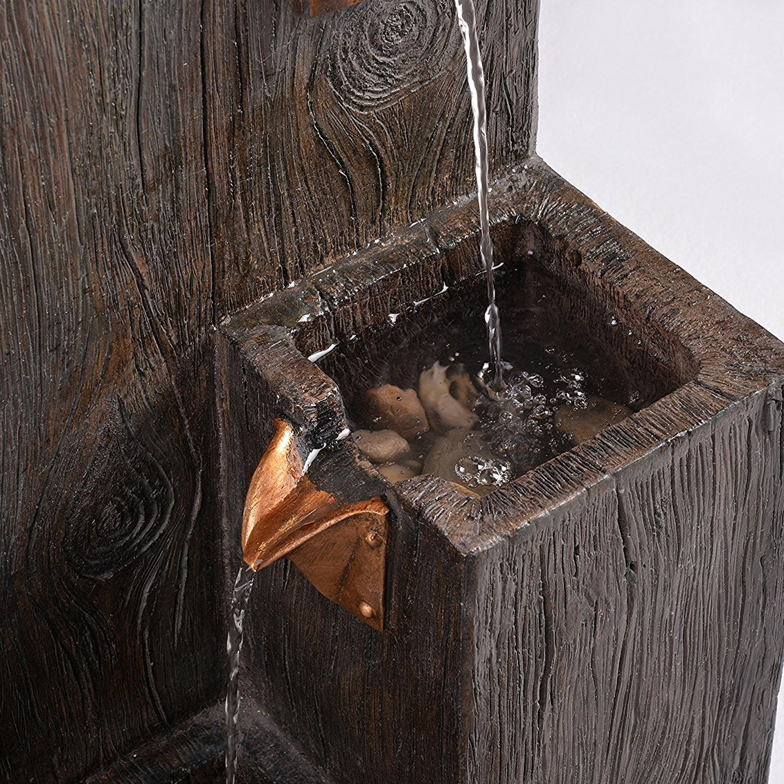 Lincoln Indoor/Outdoor Floor Fountain - Soothing Walls