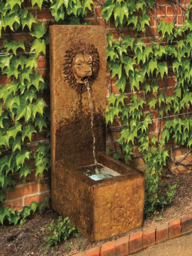 Lion Single Spout Fountain - Soothing Walls