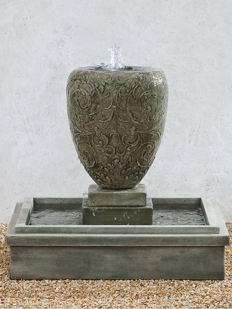 Longwood Arabesque Garden Fountain - Soothing Walls