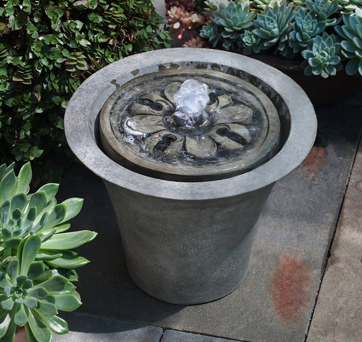 M-Series Flora Garden Water Fountain - Soothing Walls