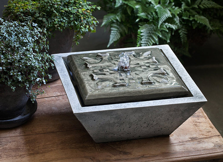 M-Series Quadro Garden Water Fountain - Soothing Walls