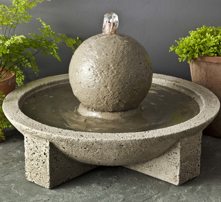 Campania Sphere Mini Series Fountain - SoothingWalls