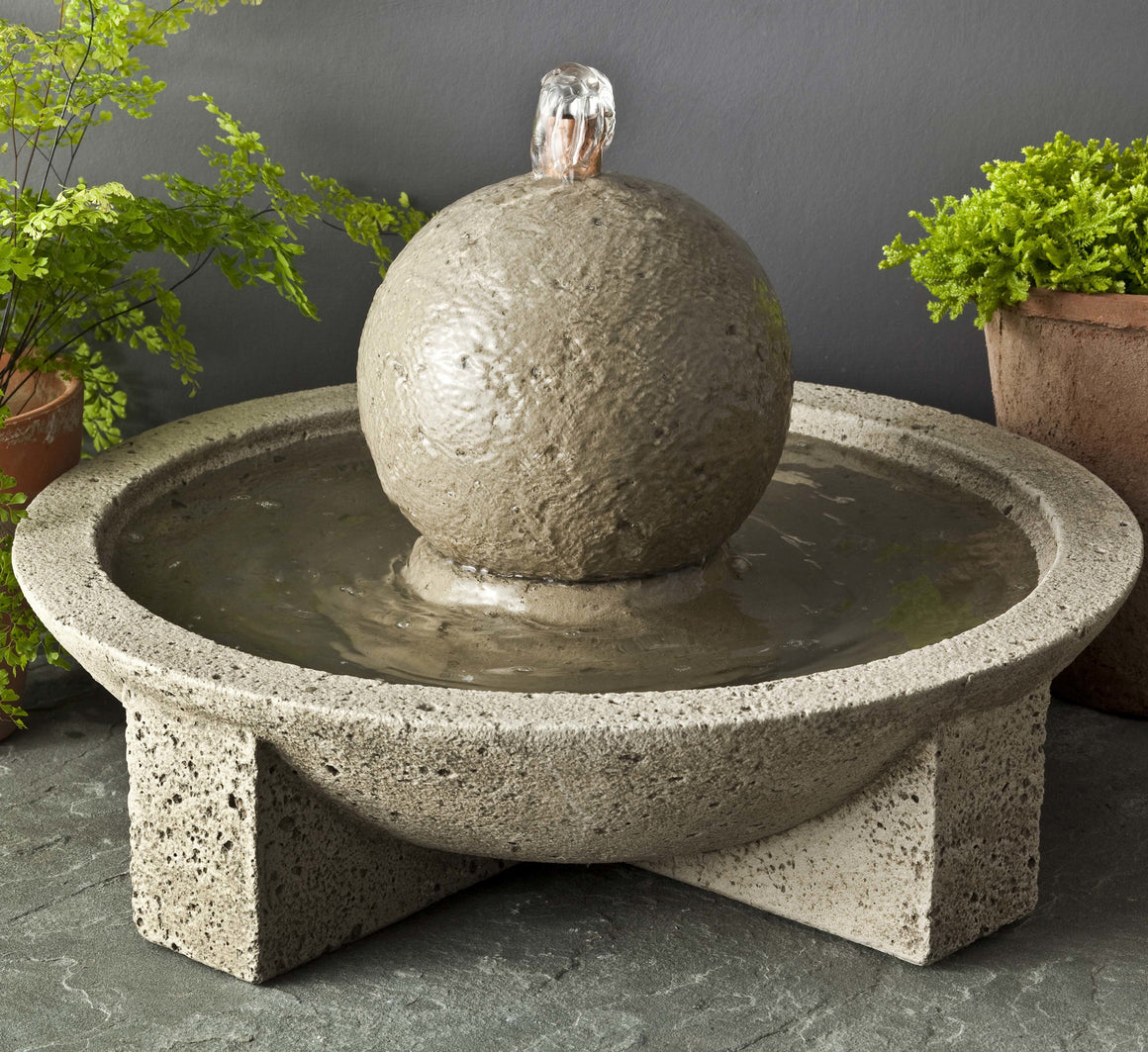 Campania Sphere Mini Series Fountain - Soothing Walls