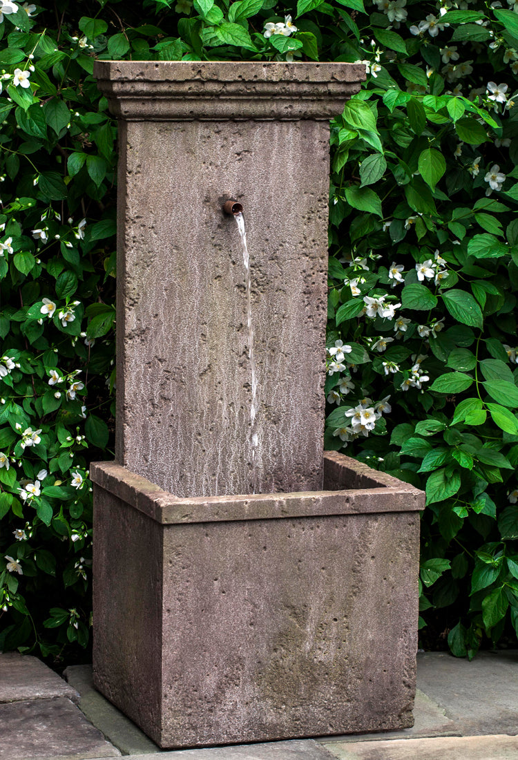 Marais Wall Outdoor Fountain -  Outdoor Fountains - Soothing Walls