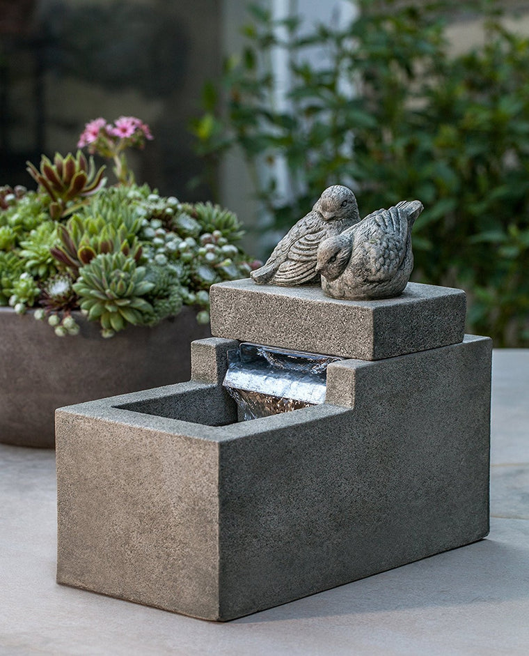 Mini Element with Birds Fountain - Soothing Walls