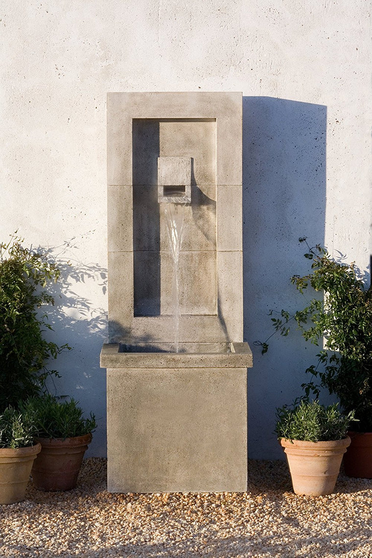 Moderne Garden Fountain - Soothing Walls