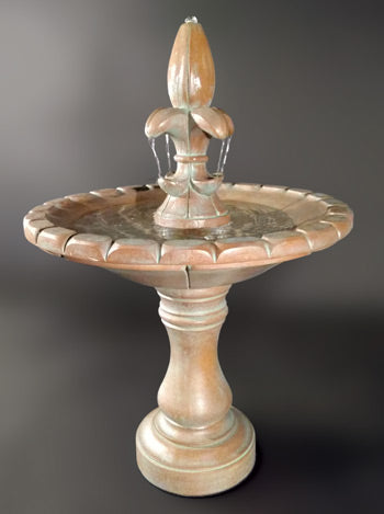 Monaco Fleur De Lis Fountain - Soothing Walls